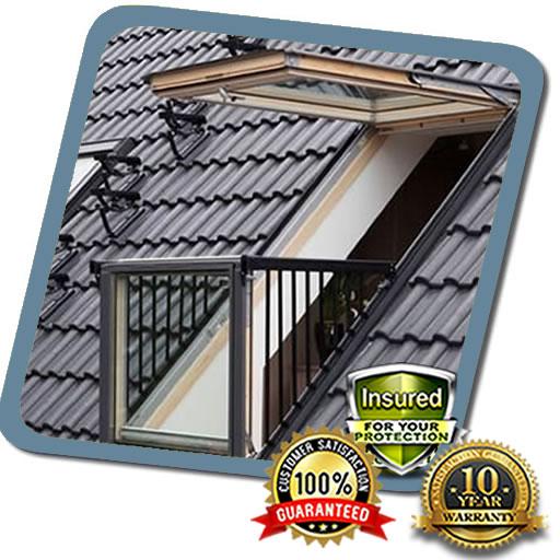 Balcony Roof Repairs in MK