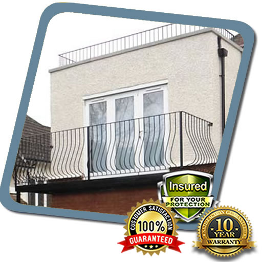 Balcony Roof Replaced by Local Roofers in MK