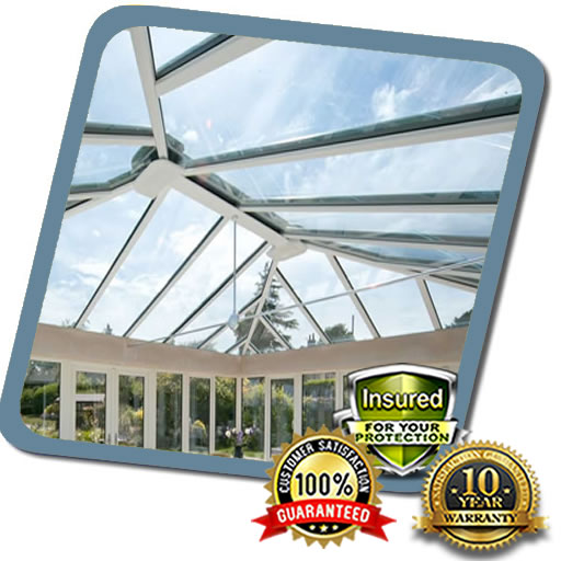 Glass Roof Fitted in Milton Keynes by Local Roofer