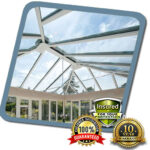 Glass Roofing Fitted