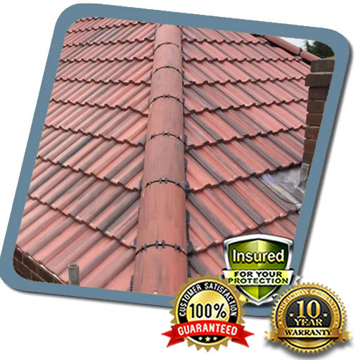Low Cost Ridge Tile Roofing Fixed in Milton Keynes